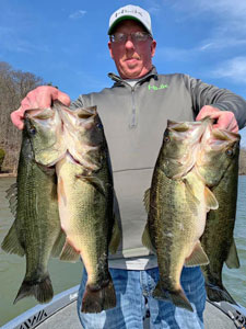 January through March Fishing COnditions on Lake Guntersville