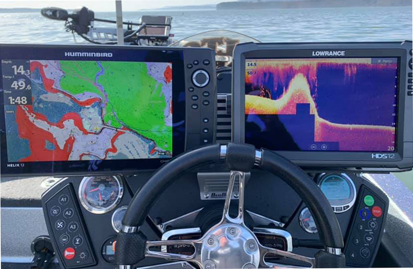 Learn to read your Humminbird and Lowrance electronics