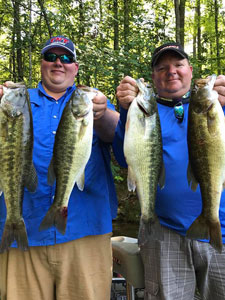 Fishing Conditions April through May on Lake Guntersville, AL