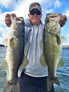 Fishing Conditions November through December on Lake Guntersville, AL